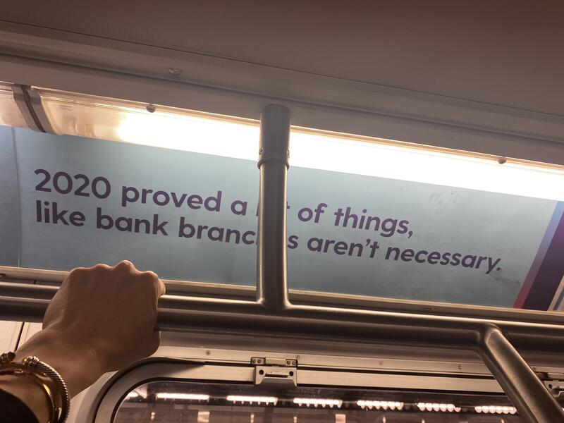 subway challenger bank advertising campaign
